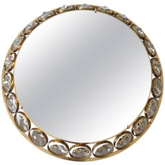 Palwa Circular Backlit Mirror, 1960s
