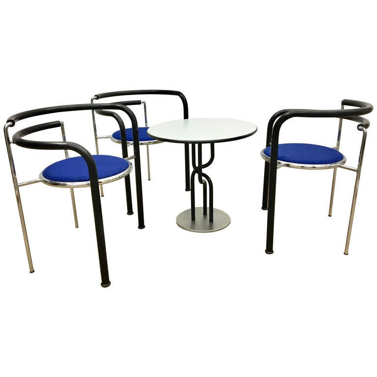 Dark Horse Seating Group by Rud Thygesen & Johnny Sorensen for Botium, 1980s For Sale