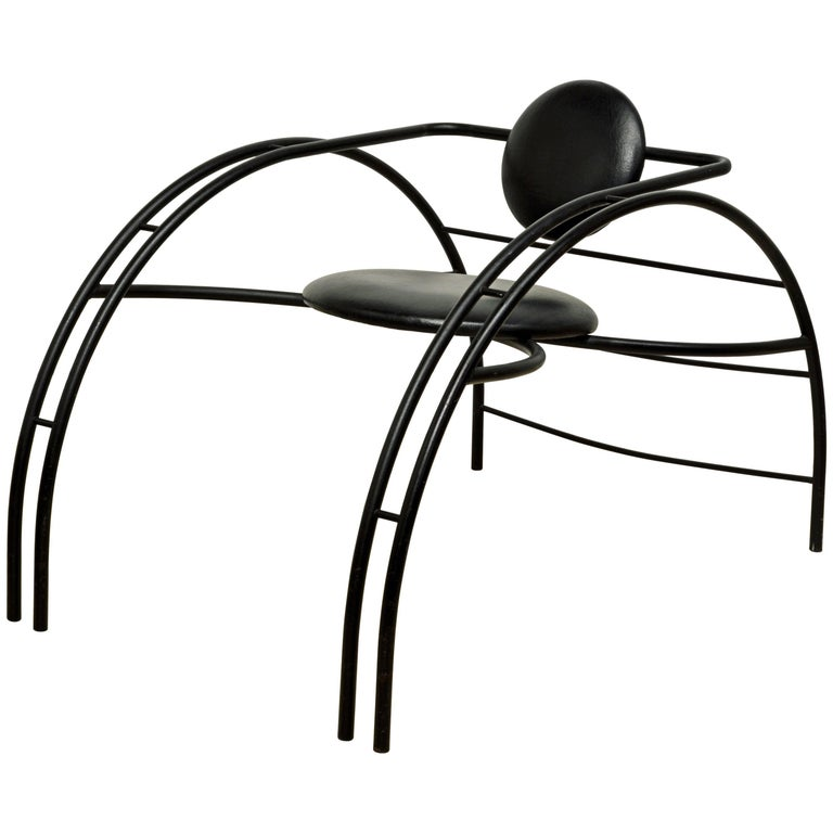 Sculptural Postmodern Quebec 69 Armchair by Canadian Design Group Les Amisca