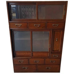 Antique Asian Rosewood Cabinet from circa 1900