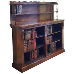 Regency Rosewood Library Bookcase