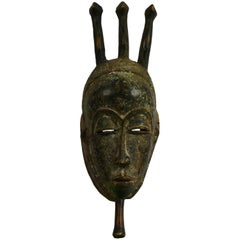 Mid-20th Century Yohure Mask from Ivory Coast