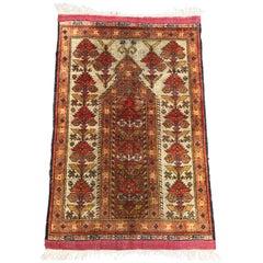 Antique Azerbaïdjan Silk Rug
