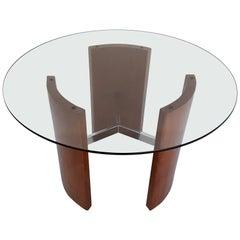 Midcentury Radius Side or End Table by Vladimir Kagan