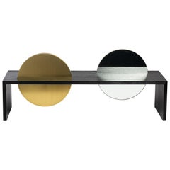 Disclosure Bench Table from the Qualia Collection by Azadeh Shladovsky
