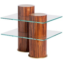 Rivet Table from the Qualia Collection by Azadeh Shladovsky