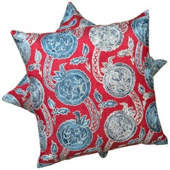 Turkish Hand Embroidered Throw Pillows