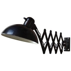 Christian Dell for Kaiser Extendable Wall Lamp