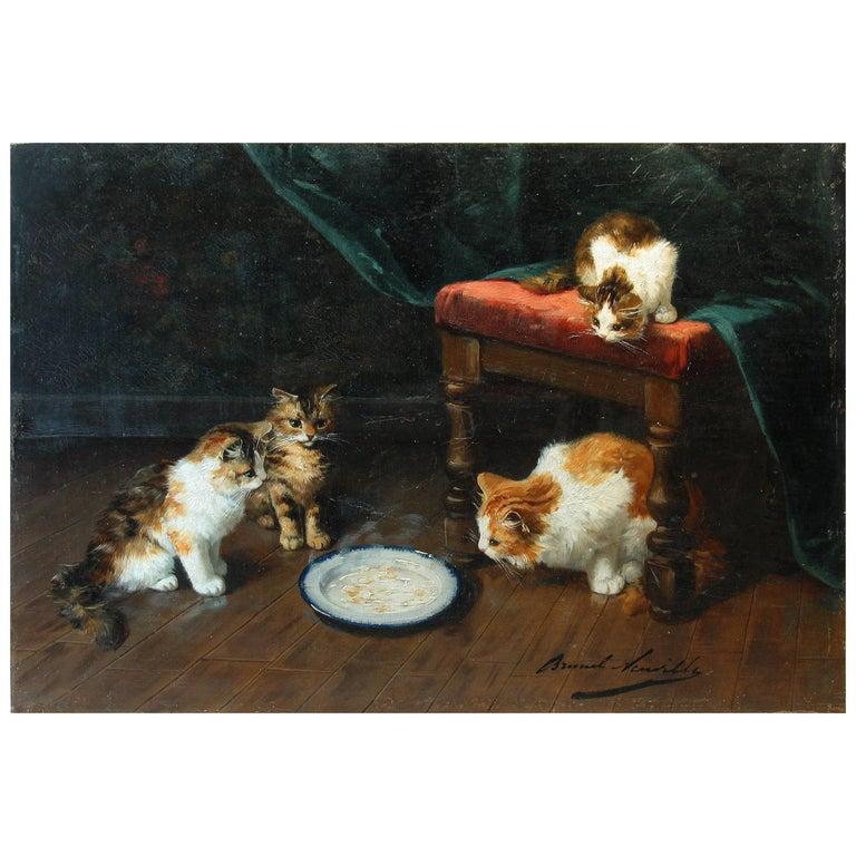 "Alfred Arthur Brunel de Neuville, ""Hot Milk"" For Sale"