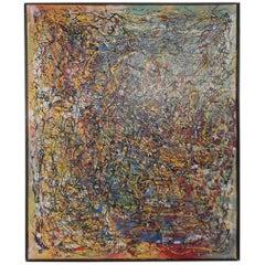 Beautiful Splatter Abstract Painting