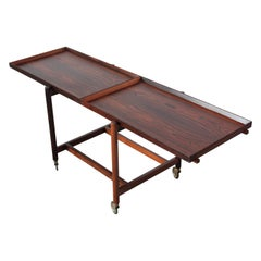 Poul Hundevad Rosewood Modular Bar Cart