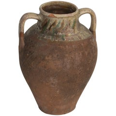 Antique Olive Oil Pot