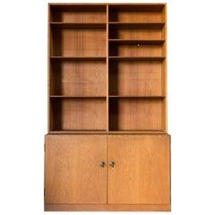 Midcentury Borge Mogensen Two-Piece Cabinet