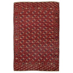 Antique Tekke Turcoman Rug, circa 1890