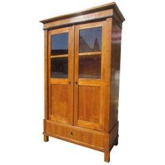 Biedermeier Bookcase from circa 1830 in Cherrywood