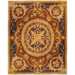 Extra Large Vintage Savonnerie Rug