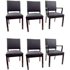 Set of Six Dining Chairs by Landstrom