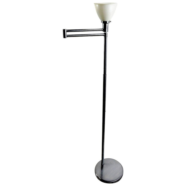 Flex Arm Floor Lamp by Walter Von Nessen For Sale