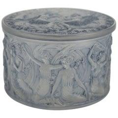 """René Lalique Box """"Figurines Et Voiles"""""""