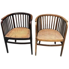 Pair of Chairs Signed Thonet