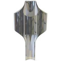 Sonneman Sculptural Chromed Table Lamp