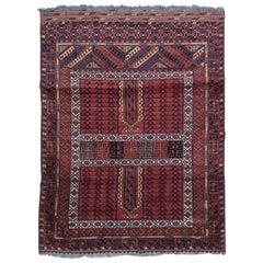 Turkmen Afghan Hatchlou Style Rug