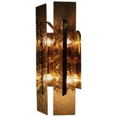 Glass Wall Lamp by J. T. Kalmar - Franken