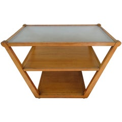 Handsome Edward Wormley Precedent Collection Bar Cart, Mid-Century Modern