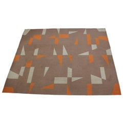 Midcentury Design Geometric Carpet or Rug
