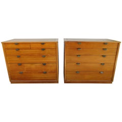 Pair of Edward Wormley Precedent Bachelor Chest Dressers, Mid-Century Modern
