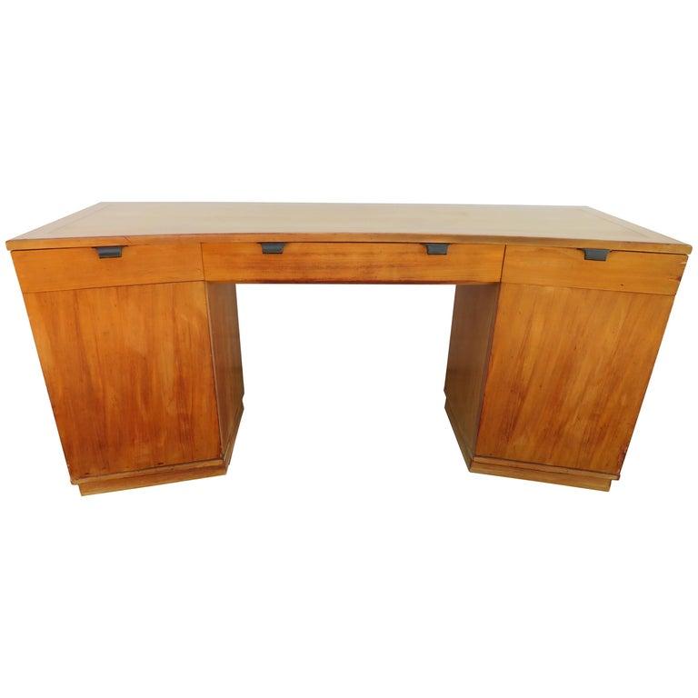 Midcentury Drexel Precedent Vanity/Desk Designed by Edward Wormley