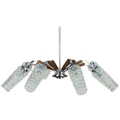 Eight-Arm Italian Chandelier, circa 1960s