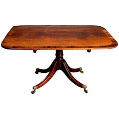 Mahogany Breakfast Table, Excellent Quality