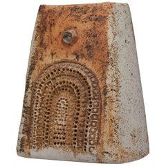 Studio Ceramic Vase by British Potter Alan Wallwork