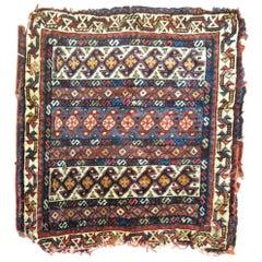 19th Century Persian Bagface Textile Rug