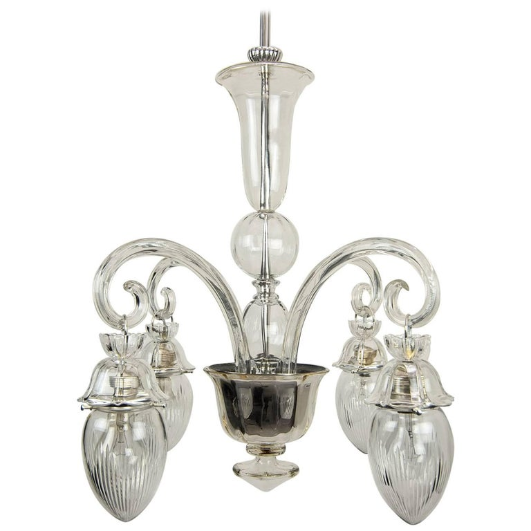 Beautiful Chandelier Attributed Lobmeyr, circa 1920s