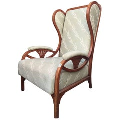 Gebruder Thonet Model Wing Chair