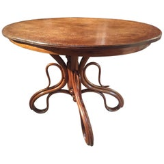 Rare Thonet Curved Centre Table