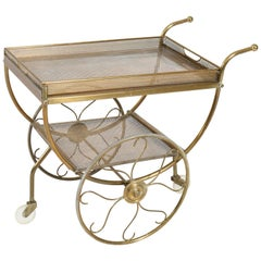 Hollywood Regency Trolley or Bar Cart by Josef Frank for Svenskt Tenn, 1950s
