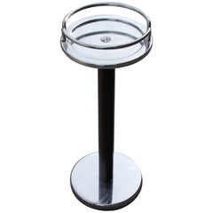 Ettore Sottsass for Alessi Italian Chrome Cocktail or Side Table