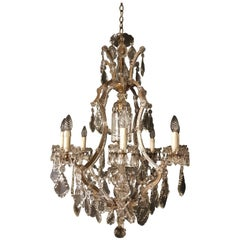 Maria Theresa Crystal Chandelier Antique Ceiling Lamp Lustre