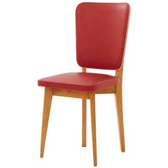 Red Midcentury Chair
