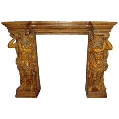 Cast Terracotta Fireplace Mantle