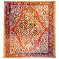 Unbelievable Early 20th Century Bakshaish Rug