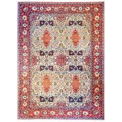 Mesmerizing Early 20th Century Persian Isfahan Rug