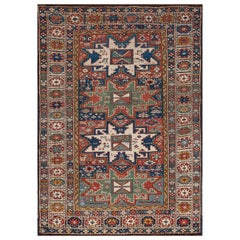Antique Lesghi Rug, Caucasus, Late 19th Century