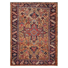 Antique Heriz Rug, North West Persia, circa 1910