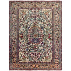 Antique Isphahan Rug, Central Persia, circa 1900