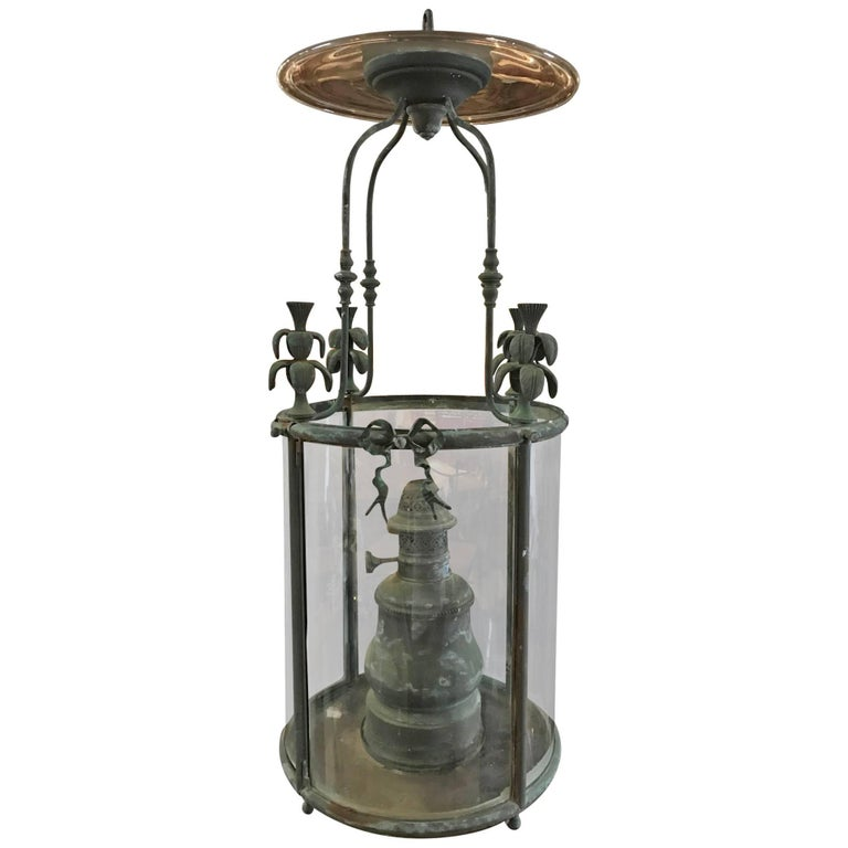 Outstanding French 19th Century Lantern