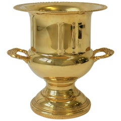 Gold Champagne or Wine Cooler Ice Bucket